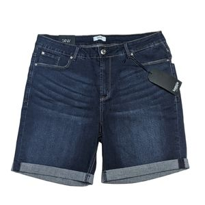 Kensie 14W Stitch Fix Hunter Cuffed Jean Shorts